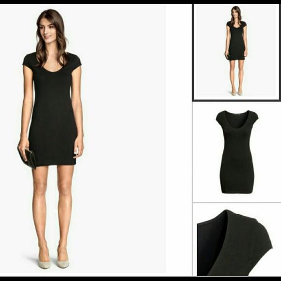 958fca75f4 H M Dresses   Skirts - H M Basics TShirt Dress S NWOT BLACK