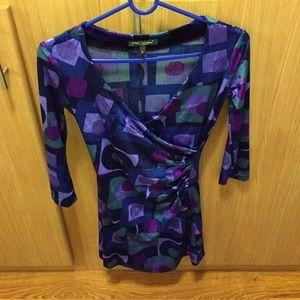 Betsey Johnson Dresses & Skirts - Betsey Johnson Velvet chic dress deep v neck 💞