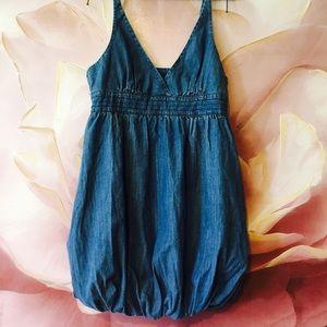 Bebe 2B denim dress Size Medium