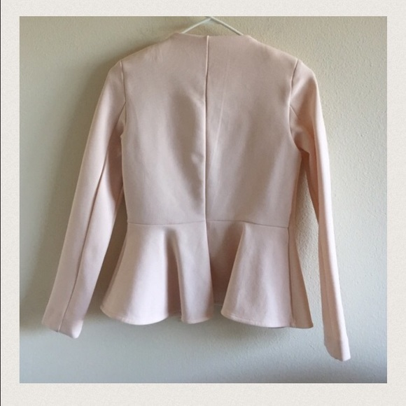 54% off Topshop Jackets & Blazers - Topshop Chanel Style Fitted