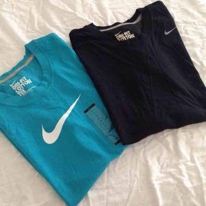 Teal Nike Dri-fit t-shirt