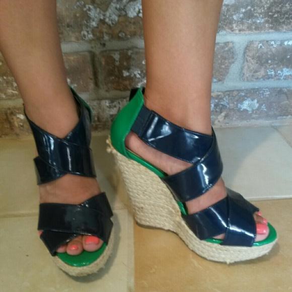 83 xhilaration shoes blue and green xhilaration