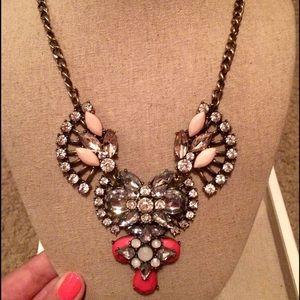 Jewelry - NWOT-Jeweled Necklace