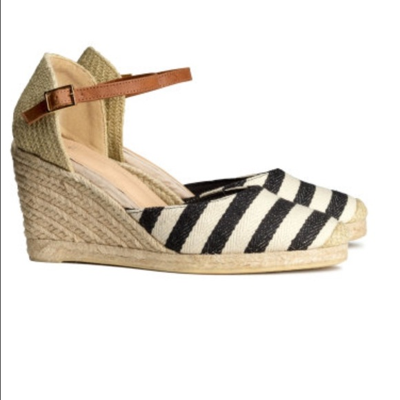 66 h m shoes h m wedge heel espadrilles from maki s