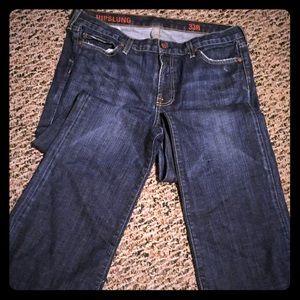 J.Crew hipslung jeans 33