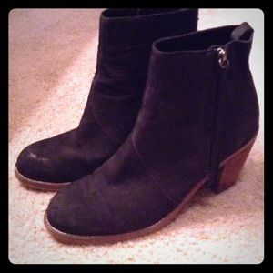 Dolce Vita Boots - Black Suede Dolce Vita Jax Boots / Booties