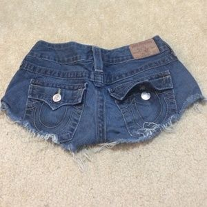 True religion short jeans