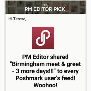 BHAMPOSH Tops - Birmingham meet & greet - 11/7/2015
