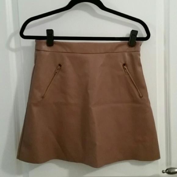 50 forever 21 dresses skirts faux leather skater
