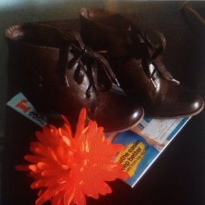 Beautiful Chocolate brown booties