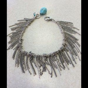 Lucky Brand Jewelry - So cute Lucky Brand chain Cha-Cha Bracelet!