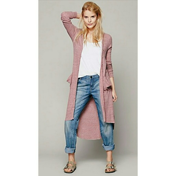 Free People - Free People Ribbed Up Maxi Cardigan from *hilary*'s ...