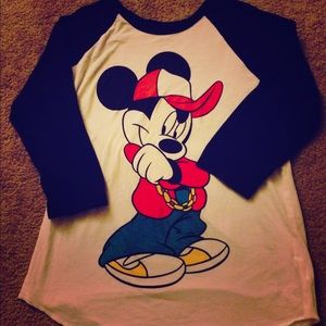 Disney baseball tshirt