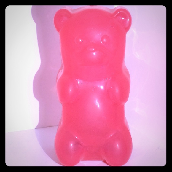urban outfitters accessories cute pink gummy bear night light