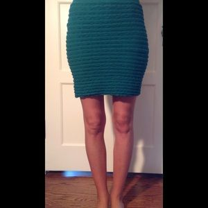 Tees By Tina Dresses & Skirts - Emerald Green Nylon Skirt