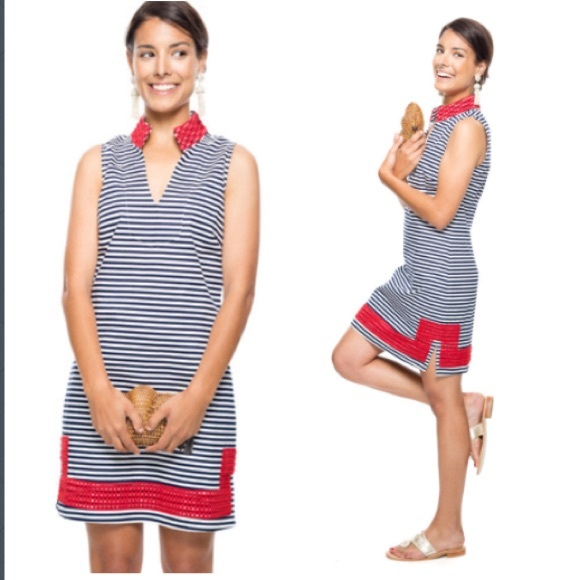 966f5f2c8ea Sail to Sable Sizzling in stripes dress