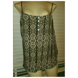 ✓NWT ✿ F21 Patterned Tank