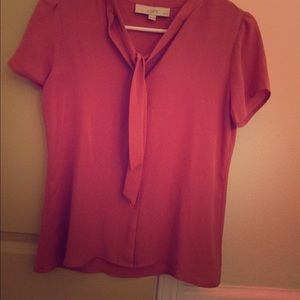 XS Loft button up blouse.