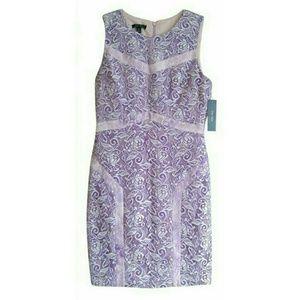 Ivy & Blu Lace Sheath Dress Sz 10