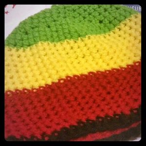 Other - Rasta Colors Knit Beanie