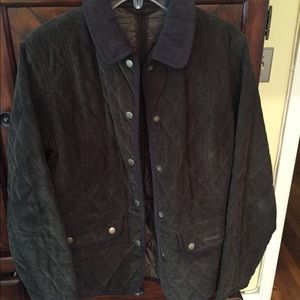 Barbour Jackets & Blazers - Corduroy Quilted Barbour Jacket