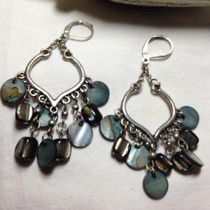 Accessories - Beautiful chandelier turquoise earrings