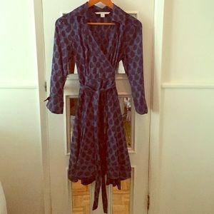 Diane Vonfurstenberg staple wrap dress