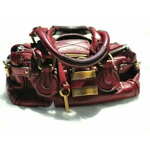 Chloe Paddington Brick Red Handbag Limited Edition
