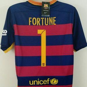 Nike Tops - Barcelona Football Club Soccer Jersey Kit Shorts