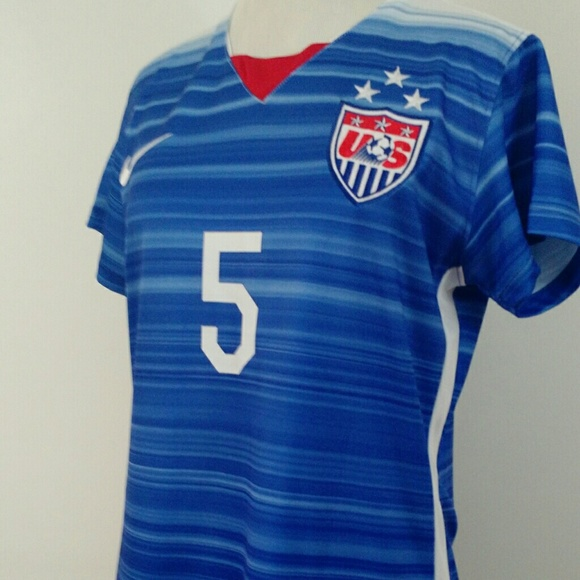 uk availability 1d3ab 35bac USA Womens Nike World Cup 3 Star Jersey NWT