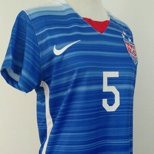 Nike Tops - USA Womens Nike World Cup 3 Star Jersey