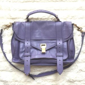 Proenza Schouler Handbags - Proenza Schouler Medium PS1 leather satchel