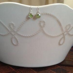 Jewelry - NWOT Genuine Peridot Drop Earrings