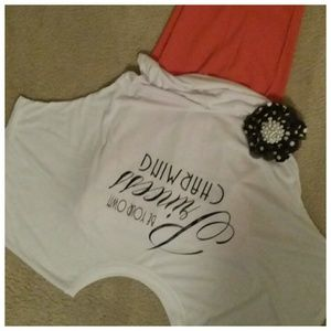 Mix this SavvyPOSH Tee with your favorite pant!
