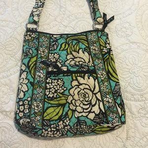 Vera Bradley hipster crossbody purse island bloom