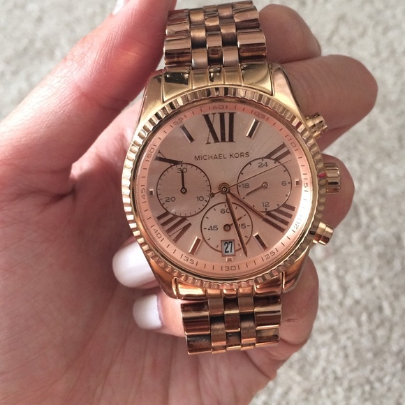 Michael Kors Jewelry Lexington Rose Gold Watch Poshmark