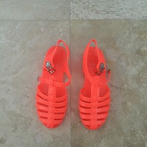 Neon Orange Jellies