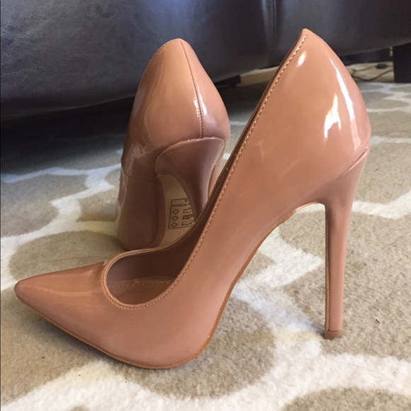 62% off Shoes - Blush/Nude Pumps from Jackie's closet on Poshmark