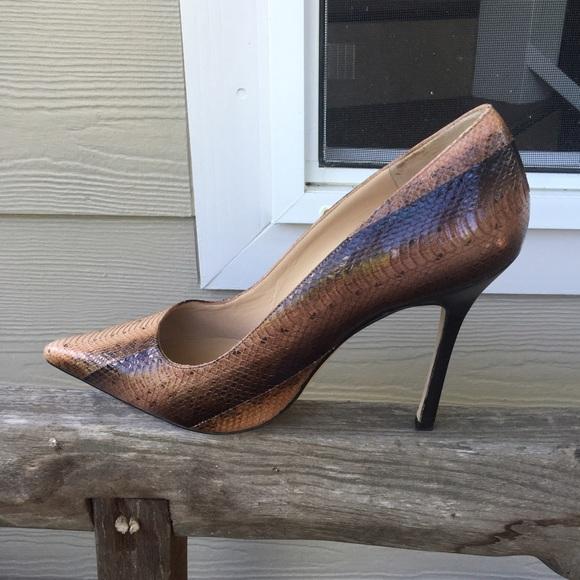 Manolo Blahnik Shoes - AUTHENTIC NWT! Manolo Blahnik Genuine Snake Heels