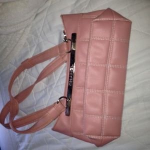 Pink Chanel shoulder bag