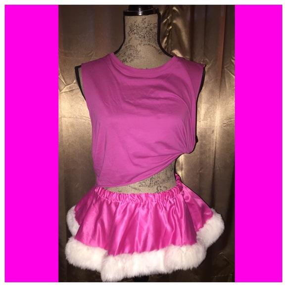 Mrs Santa Skirt 55