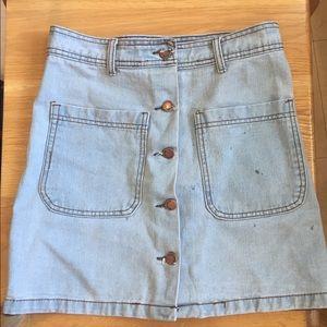 bottom front skirt