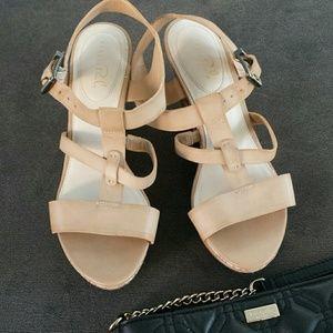 "Studio paolo Shoes - Platform nude"" tan"" shoes"