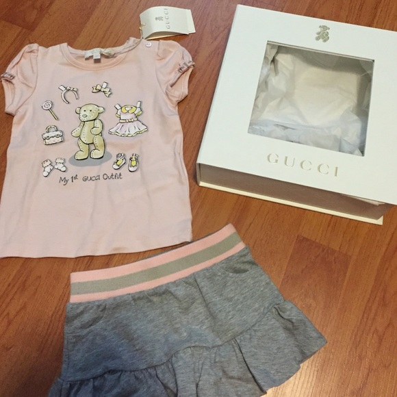 ecca39642 Gucci Matching Sets | Newbaby Girl Outfit Authentic | Poshmark
