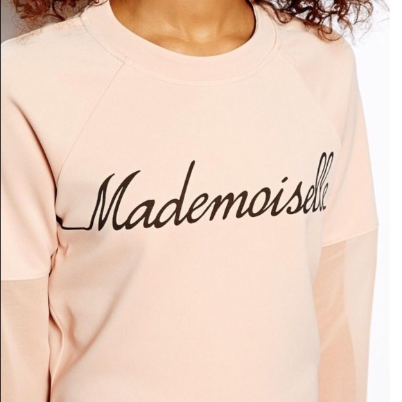 ASOS Tops - ASOS Mademoiselle Sweat Top