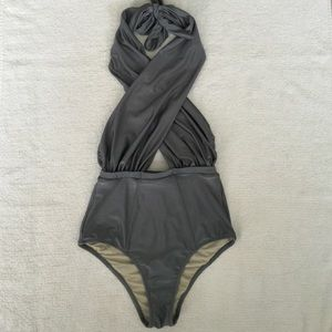 6 Shore Road Other - 6 Shore Road NWT Cabana One Piece in Quarry XS