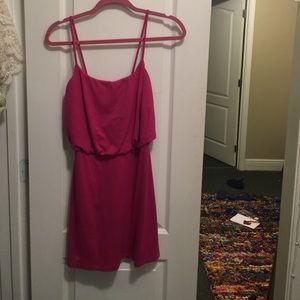 Pink Susan Monaco dress