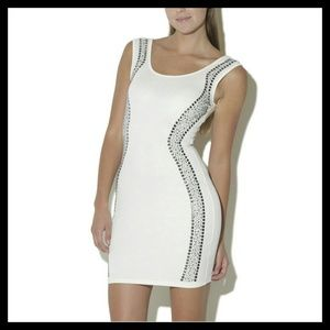 Arden B Contoured Embellished Dress