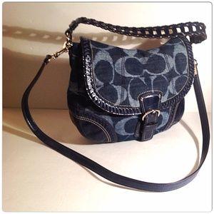 Coach Handbags - DENIM COACH 💢SOLD💢