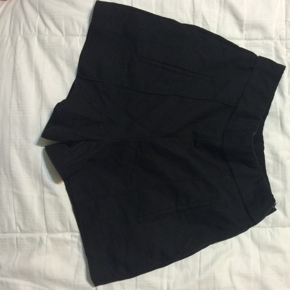 50 off zara pants nice black high waisted shorts from. Black Bedroom Furniture Sets. Home Design Ideas
